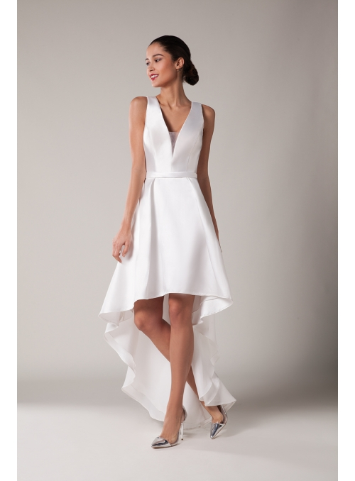 Robe ivoire by Fashion New York - NY2934