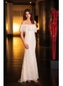 Robe ivoire by Fashion New York - NY3005